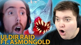 New WoW Battle for Azeroth raid : ULDIR RAID HIGHLIGHTS ft. Asmongold