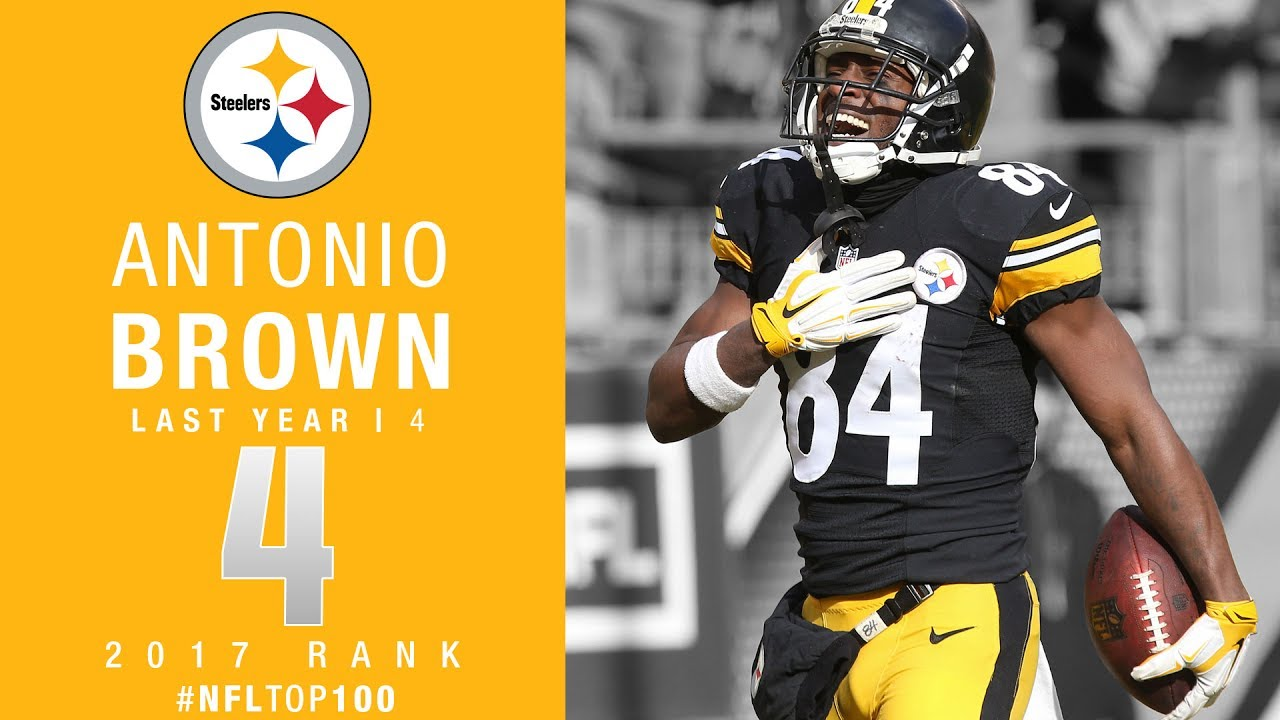 #4: Antonio Brown (WR, Steelers) | Top 100 Players of 2017 ...