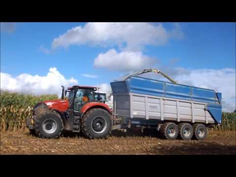 Ensilage de maïs 2016 en Optum avec Nouvelle ensileuse Claas 950