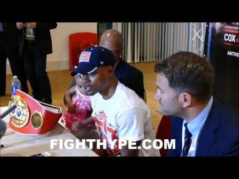 ERROL SPENCE REVEALS WHAT KELL BROOK TOLD HIM IMMEDIATELY AFTER THE FIGHT