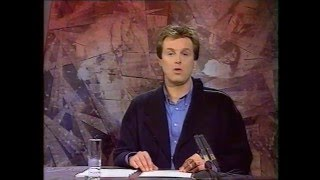940115 - BRTN TV1: einde Sport Op Zaterdag [Frank Raes] + continuity & closedown (15 januari 1994)