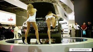 Красивые девушки с выставки авто салона. Танцуют!(, 2016-11-03T09:14:32.000Z)