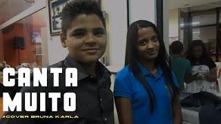 Gambar cover Luana Cristina canta muito na pizzaria com Isac Santos - Pai eu Confiarei - Capela