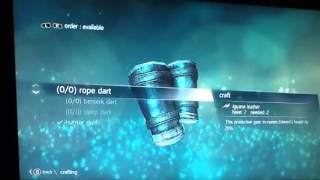 Assassins Creed IV Crafting Glitch