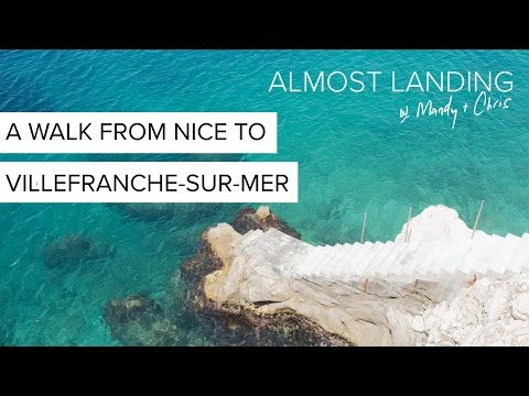 A Walk From Nice To Villefranche-Sur-Mer, France