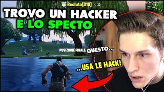 I COME UCCISO giveS A HACKER and THE SPECTO! FORTNITE ITA HACK
