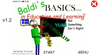 Baldi's Basics In Education And Learning But Something Isn't Right