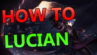HOW TO LUCIAN ADC - Full Gameplay Commentary