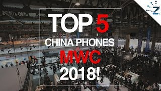 Top 5 Cool & Quirky China Phones @  #MWC2018🏅