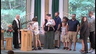 "Baptismal & Communion & Celebration for Tom 7-11-21 Worship Service ""Remember the Duck"""