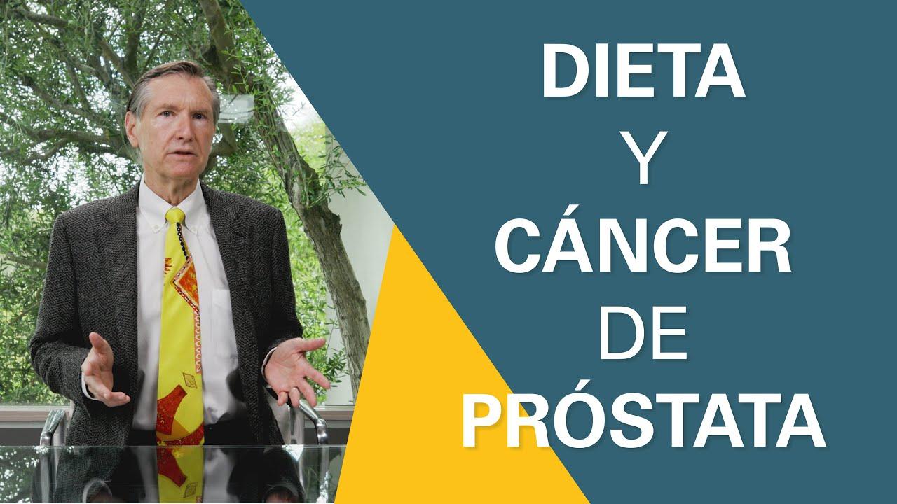 Cáncer de próstata: la dieta mejor | Pregunta a un experto en próstata