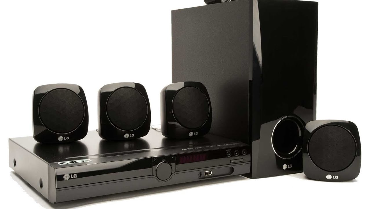 LG dh3120 dvd home theatre surround sound system
