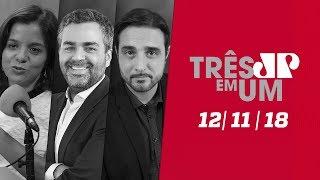 3 em 1 - 12/11/18 - STJ manda soltar Joesley Batista e Ricardo Saud