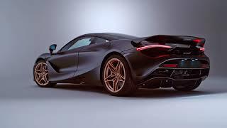 الخط العربي الذهبي يزيّن سيارة McLaren الخارقة (فيديو)
