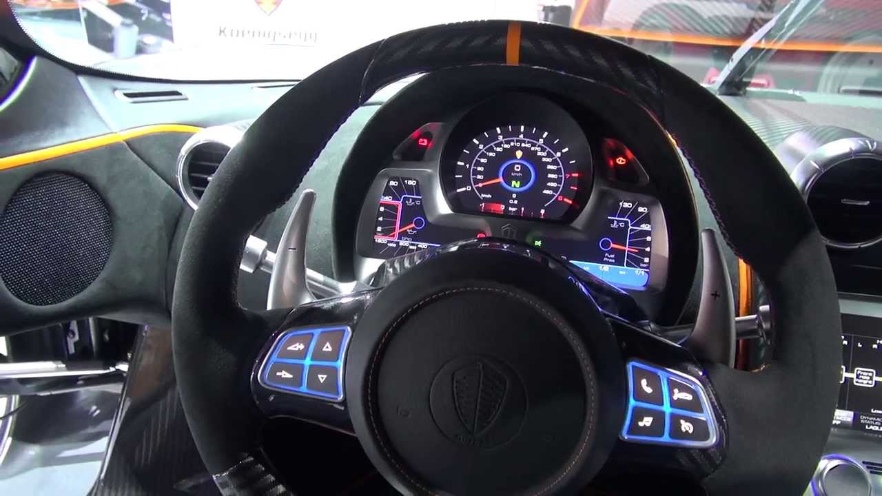 Koenigsegg One Interior >> Seat time Koenigsegg One:1 Geneva 2014 - YouTube
