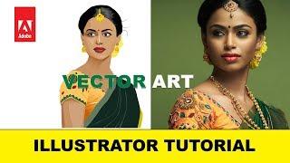 How to Create Vector Art in Illustrator | Illustrator Tutorial