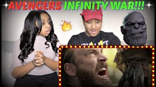 "Avengers: ""Infinity War"" Trailer #2 REACTION!!!"