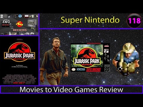 Movies to Video Games Review - Jurassic Park (SNES)