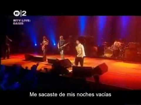 'A Bell Will Ring' - Oasis (Sub. Español) [Live]