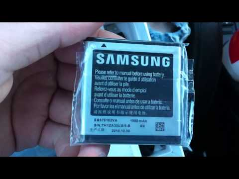 Samsung Focus Unboxing