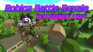 Island Royale w/ Legend Z/Sky - Roblox