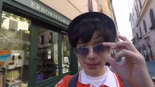 فلوق عزوز في القارة العجوز: روما ترحب بي #1 |  azooz's vlog in the old continent Rome #1