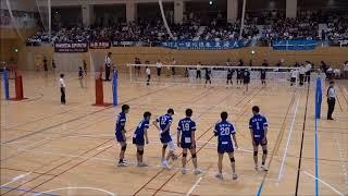 新井雄大 中央大学vs東海大学 東日本インカレ2018男子準々決勝 第5セット