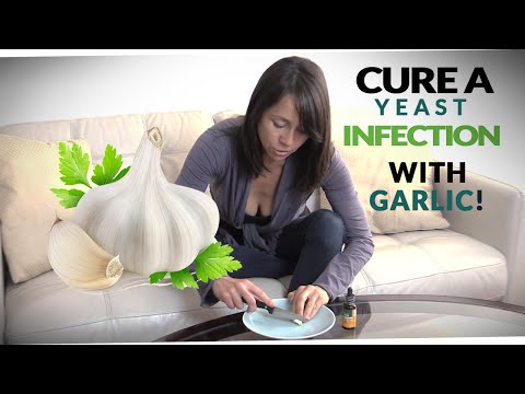 Natural, Easy Yeast Infection Cure ~ Treatment with Garlic