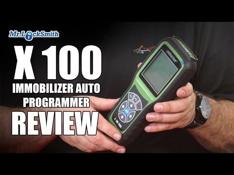 X 100 Auto Key Programmer Review Part 2   Mr. Locksmith Video