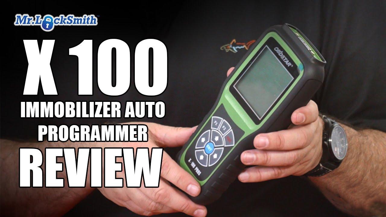 X 100 Auto Key Programmer Review Part 2 | Mr. Locksmith ...