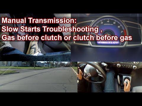 Manual Transmission: Slow Starts Troubleshooting