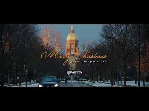 Merry Christmas from Notre Dame 2017