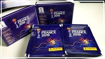 PANINI WOMENS WORLD CUP FRANCE 2019 DISPLAY BOX (50 Packs)