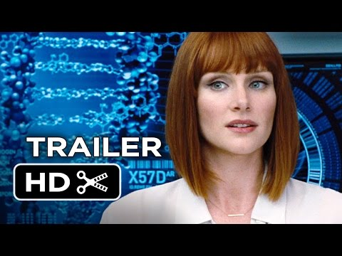 Jurassic World Official Trailer #1 (2015) - Chris Pratt, Bryce Dallas Howard Movie HD