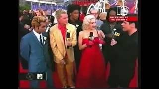 No Doubt Grammy Awards 2001 Red Carpet