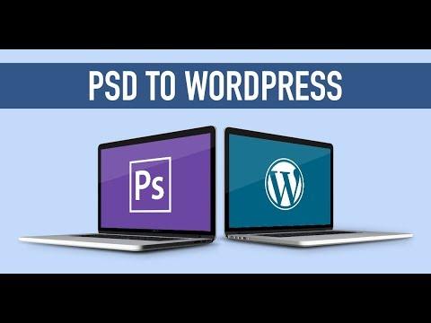 PSD to WordPress Theme Conversion - Urdu-Hindi Tutorial - Part 1 ...