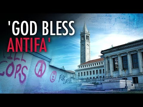 Journos Drool Over Berkeley Student Who Said 'God Bless Antifa' | Campus Unmasked