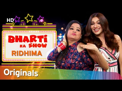 Ridhima Pandit Teaches Bharti To Speak Gujarati - Funny Comedy - Bharti Ka Show - EP4#ShemarooComedy