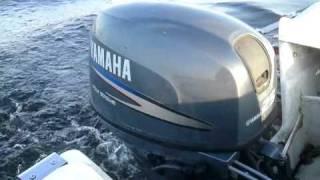 Yamaha 25 pk Testrun november 2010