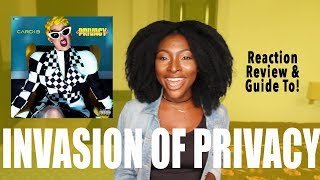 cardi b invasion of privacy commercial