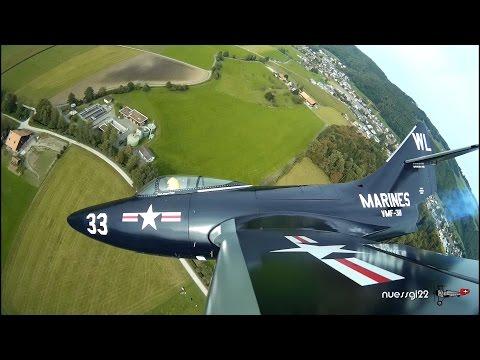Grumman F9F-5 Panther Hausen 2016