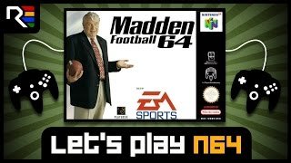 Lets Play N64 #104 - Madden Football 64