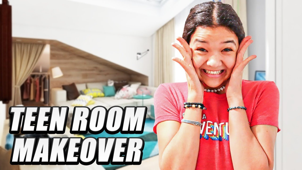 Extreme Teen Room Makeover! We Destroyed it