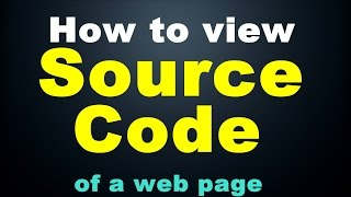 What is Source Code? And How To View It. | Practical (In Hindi)
