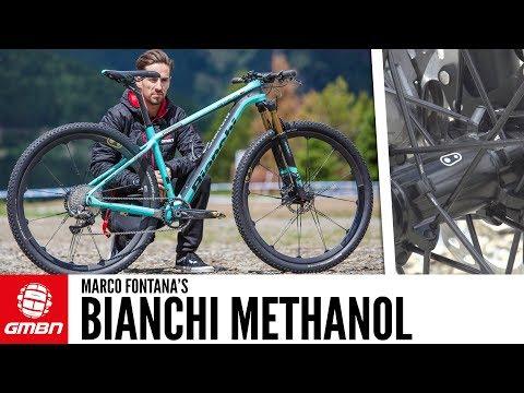 Marco Fontana's Bianchi Methanol XC Bike | GMBN Pro Bikes