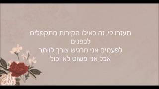 Shawn Mendes - In My Blood - מתורגם (Hebsub) Video
