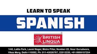 Learn Spanish @ British Lingua