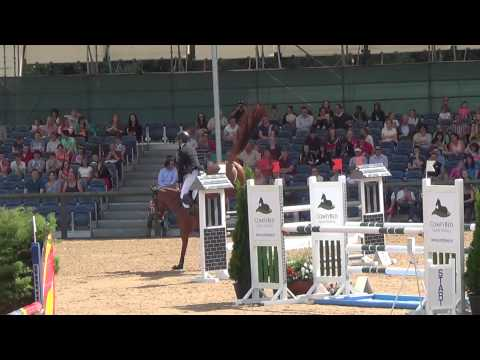 Liberation placing 2nd in 5yo RDS...