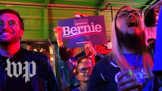 'We got momentum now': Sanders supporters celebrate Nevada win