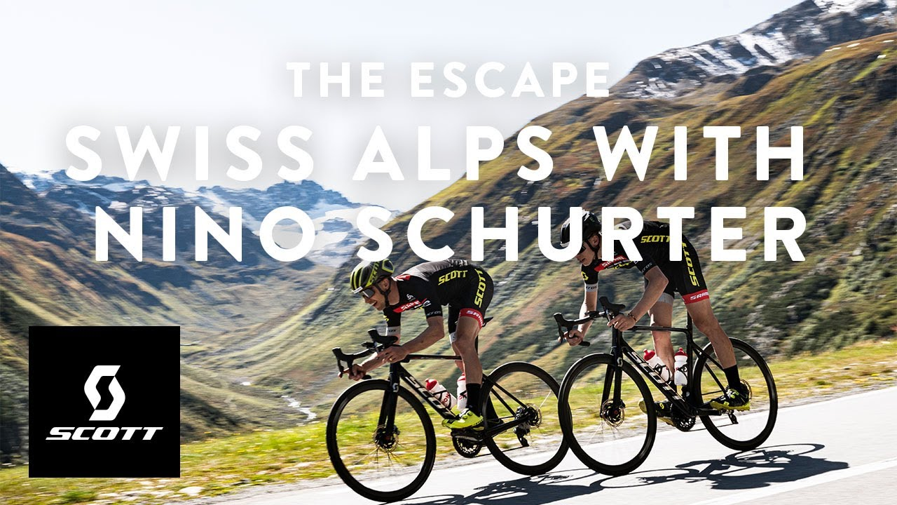 The Escape – Swiss Alps with Nino Schurter